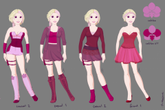 Orchid clothing reference